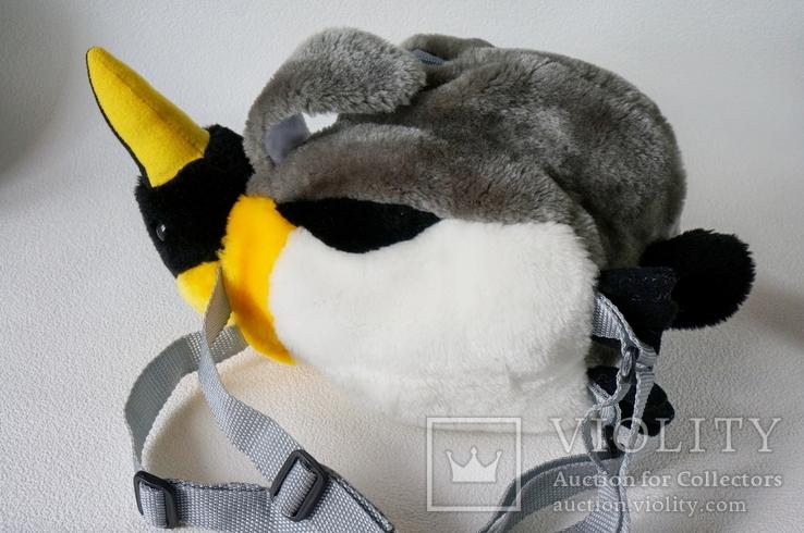 Рюкзачок-пингвинчик для самых маленьких, фото №5