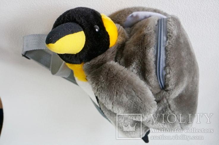 Рюкзачок-пингвинчик для самых маленьких, фото №9