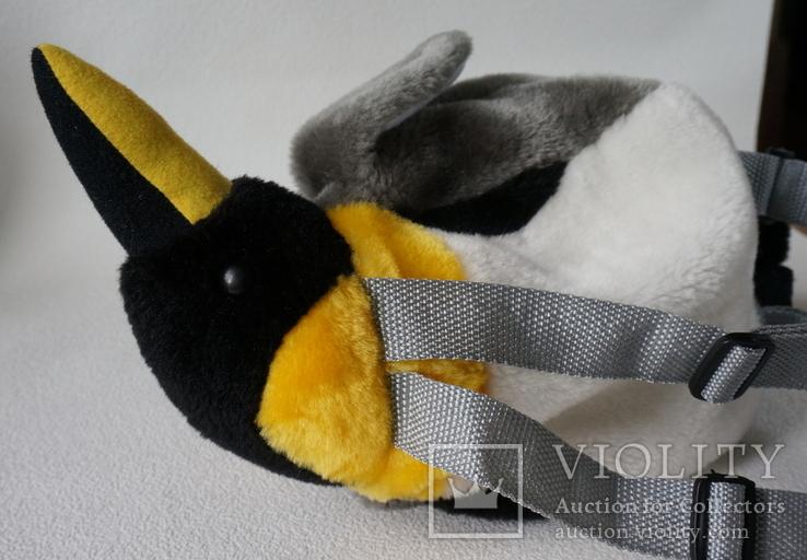 Рюкзачок-пингвинчик для самых маленьких, фото №13