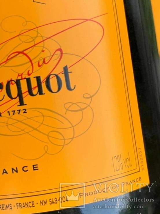 Champagne Veuve Cliequol, фото №4