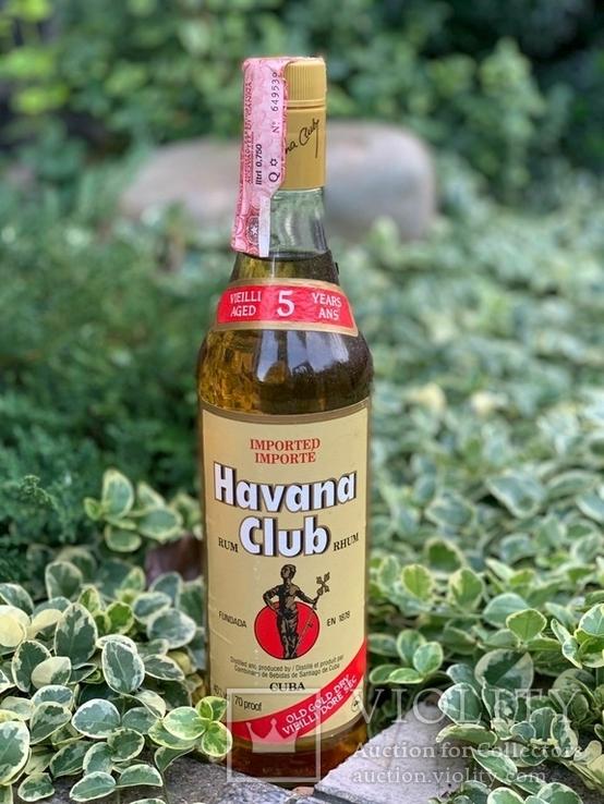 Rum Havana Club 1980s