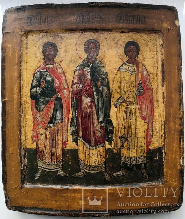 Икона мучеников Гурия, Самона и Авива