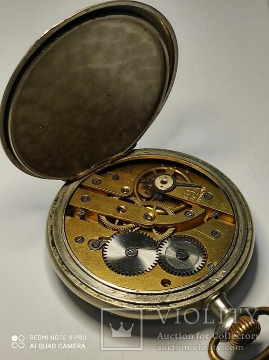 Лот карманных часов,серебро,метал, фото №4