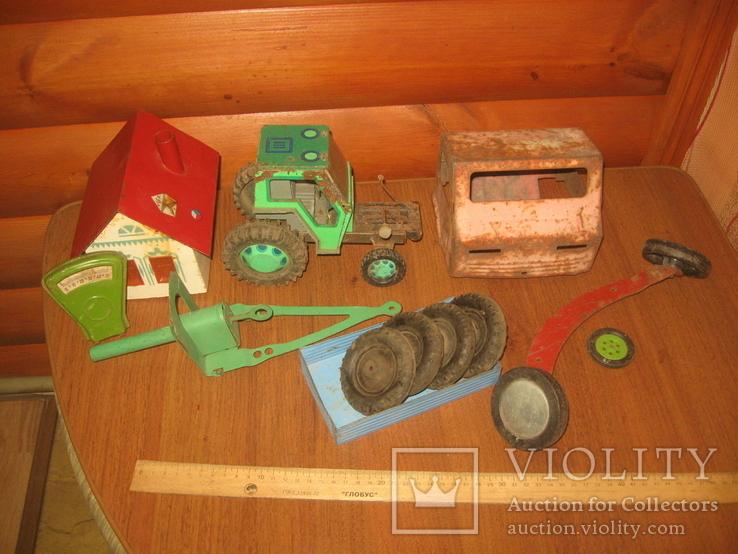 Запчасти от игрушек СССР,металл., фото №2
