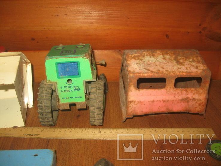Запчасти от игрушек СССР,металл., фото №13
