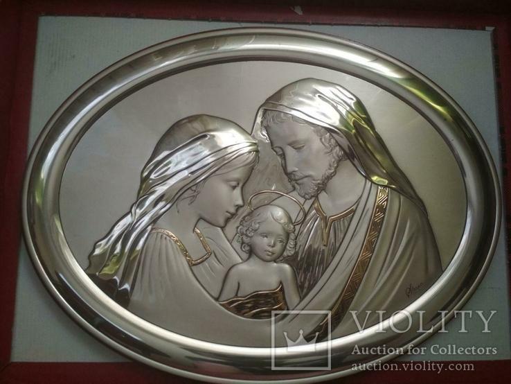Панно. Серебро 925 пр. Религия, фото №4
