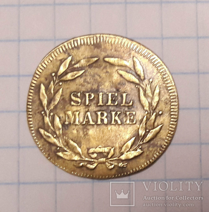 Жетон игровой SPIEL MARKE, фото №2