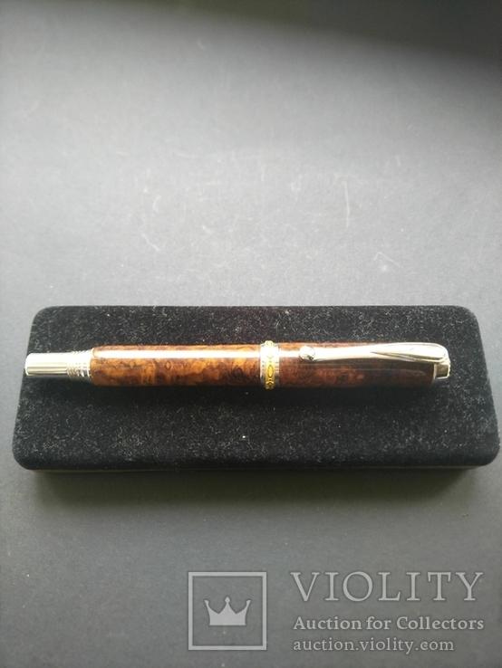 Ручка роллер ручной работы Бриар, фото №3