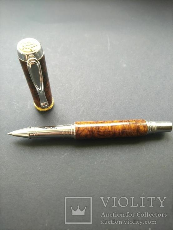 Ручка роллер ручной работы Бриар, фото №6