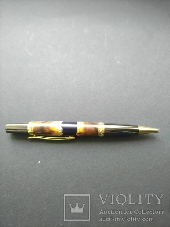 Ручка шариковая ручной работы Акриловый Клён, фото №6