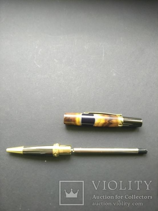 Ручка шариковая ручной работы Акриловый Клён, фото №7