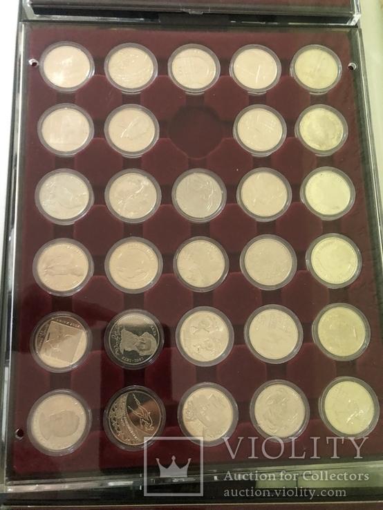 Полная коллекция монет Украины номиналом 2 и 5 грн из обычного металла (1995-2016), фото №3