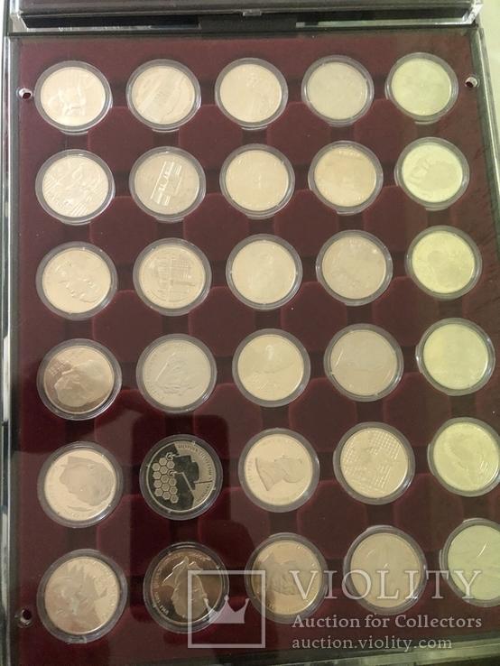 Полная коллекция монет Украины номиналом 2 и 5 грн из обычного металла (1995-2016), фото №4