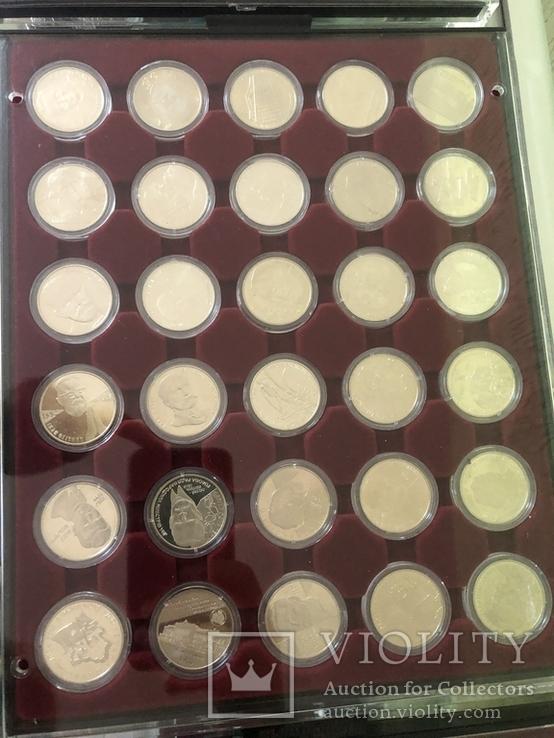 Полная коллекция монет Украины номиналом 2 и 5 грн из обычного металла (1995-2016), фото №5