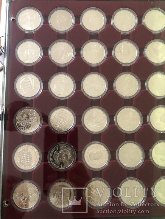 Полная коллекция монет Украины номиналом 2 и 5 грн из обычного металла (1995-2016), фото №6