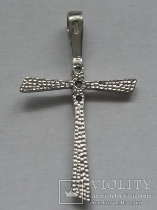 Крестик серебро., фото №7