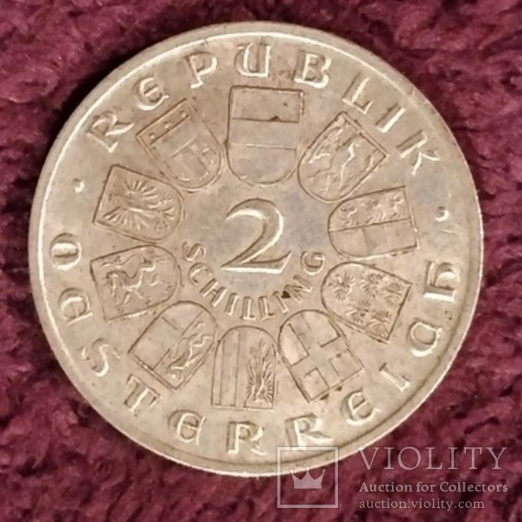 Австрия,2 шиллинга,1928 г., фото №3