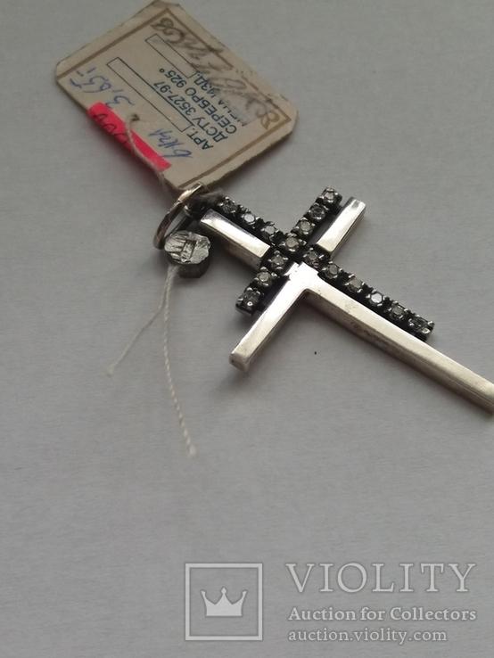 Крест 925., фото №4