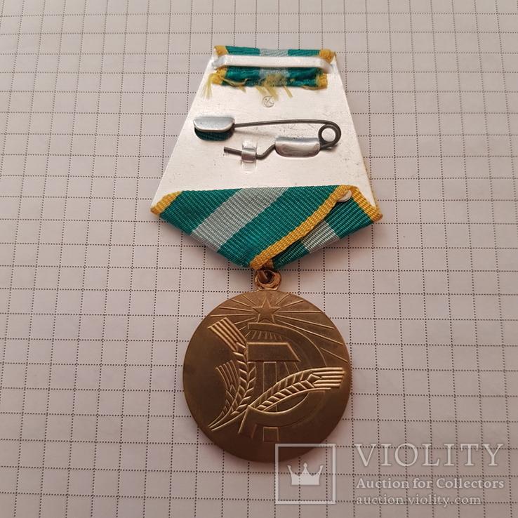 """Медаль """"За преобразование нечерноземья"""" копия, фото №5"""