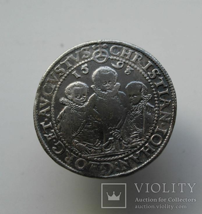 Талер 1593 г. Три брата (Саксония)