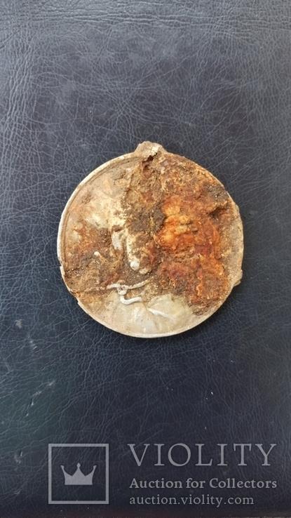 Медаль религиозная 4,5 см  Польша, фото №4