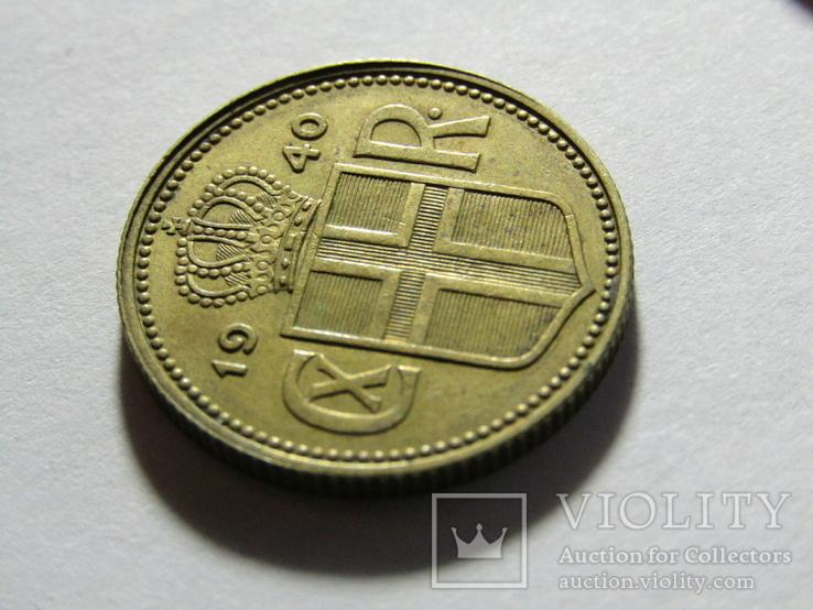 1 крона 1940 Исландия, фото №7