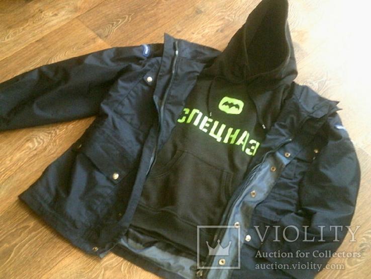 Комплект securitas (куртка,кофта,футболка) разм.L, фото №12
