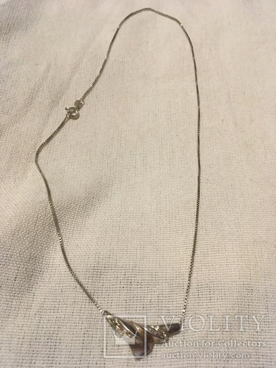 Колье серебро, фото №2