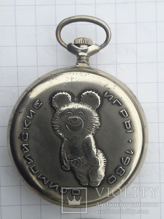 Часы Молния-олимпийские игры 1980г, фото №4