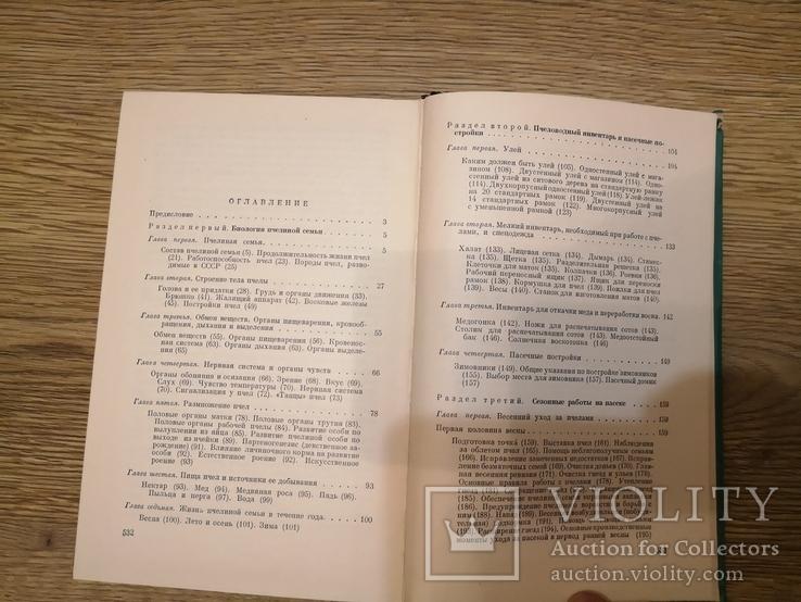 Книга Гусельников Пчеловодство 1960 пасека бджільництво пчелы, фото №5