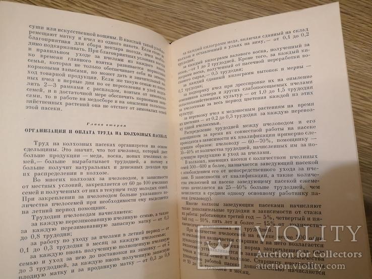 Книга Гусельников Пчеловодство 1960 пасека бджільництво пчелы, фото №8