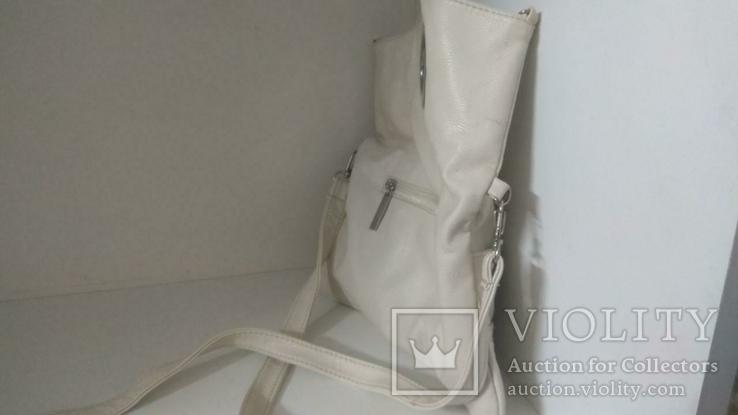 Женская белая сумка, фото №6