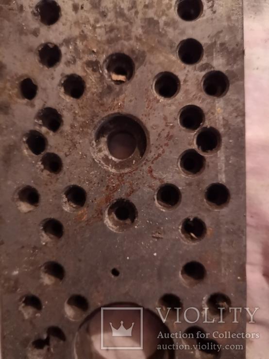 Металичсекая запчасть деталь инструмент для ремонта часов часовщика, фото №8