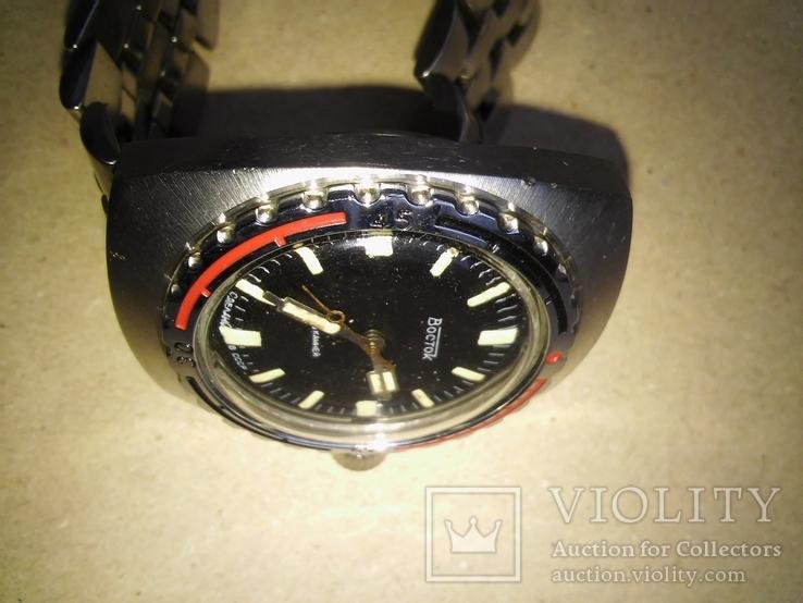 Часы Восток Амфибия механические на родном браслете, фото №7