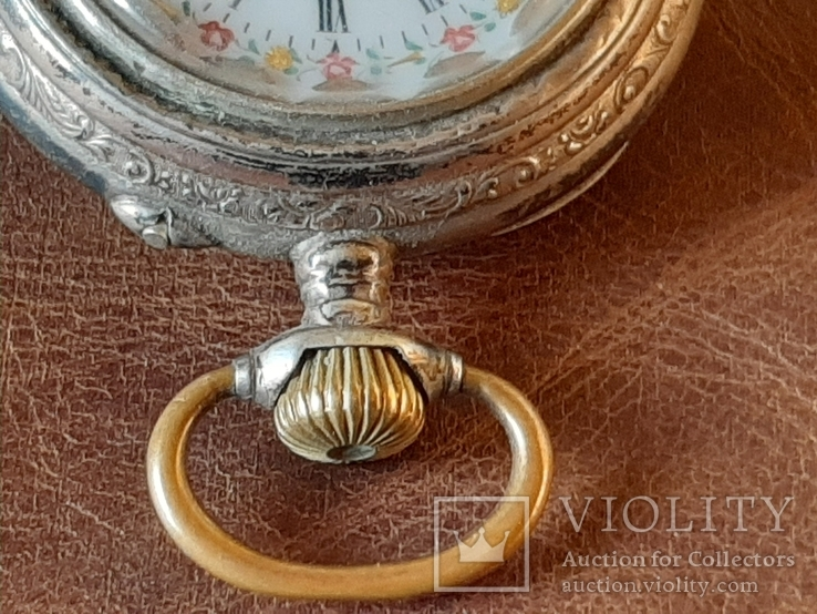 Часы карманные серебро на ходу, фото №7