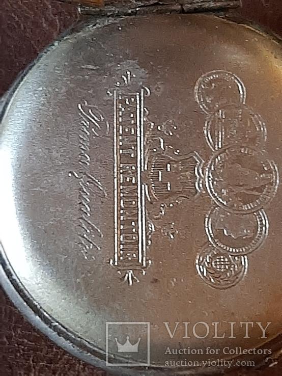 Часы карманные серебро на ходу, фото №8