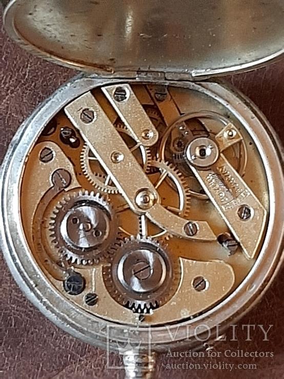 Часы карманные серебро на ходу, фото №12
