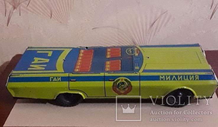 Машинка Милиция ГАИ Кубань 39 см Жесть., фото №7
