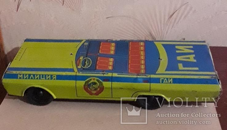 Машинка Милиция ГАИ Кубань 39 см Жесть., фото №10