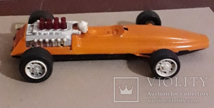 Гоночная машинка СССР длина 28 см, фото №8