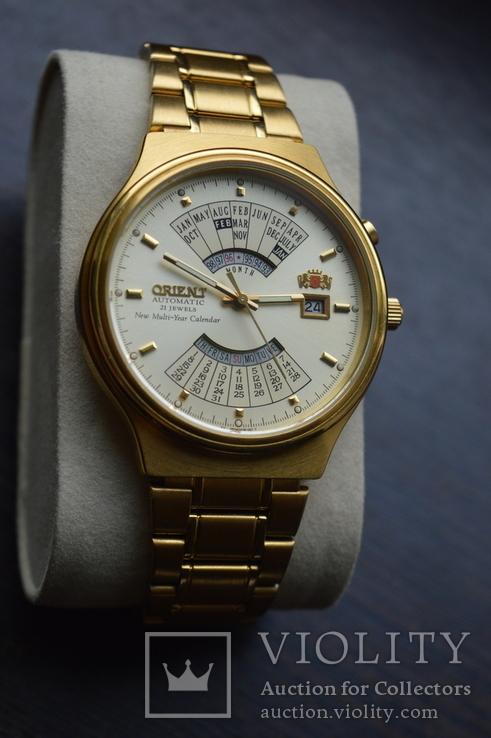 Orient Automatic New Multi-Year Calendar 21 jewels