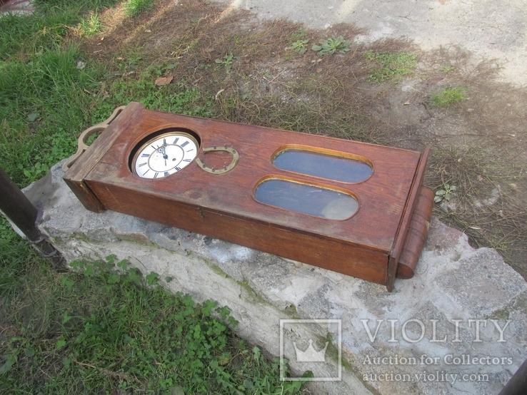 Часы настенные большие LENZKIRCH 1875 г., фото №2