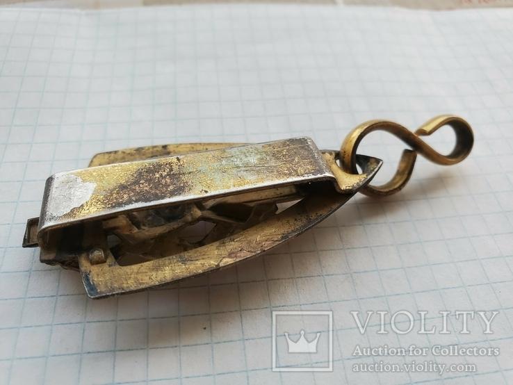 Элемент масонского ремня с подвесом ременной зацеп, фото №6