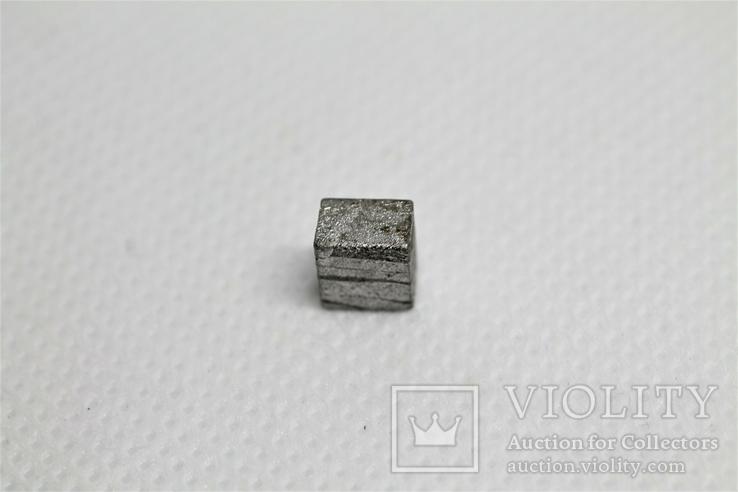 Заготовка-вставка з метеорита Seymchan, 1,37 г, із сертифікатом автентичності