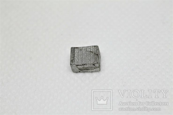 Заготовка-вставка з метеорита Seymchan, 1,44 г, із сертифікатом автентичності, фото №7