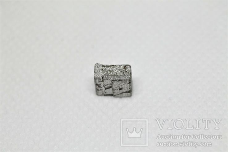 Заготовка-вставка з метеорита Seymchan, 1,44 г, із сертифікатом автентичності, фото №8