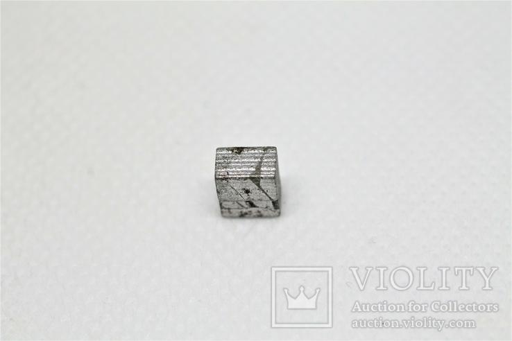Заготовка-вставка з метеорита Seymchan, 1,44 г, із сертифікатом автентичності, фото №2