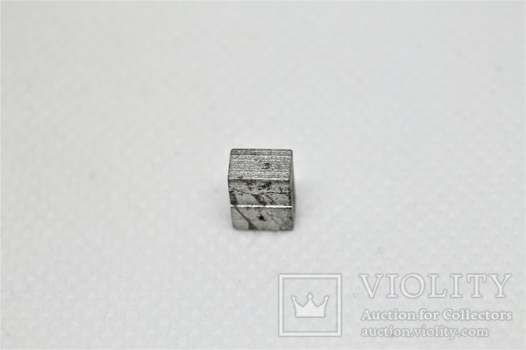 Заготовка-вставка з метеорита Seymchan, 1,44 г, із сертифікатом автентичності, фото №9