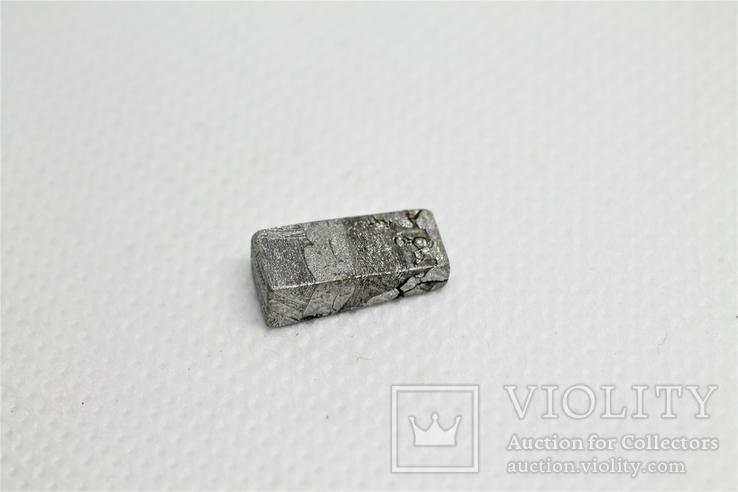 Заготовка-вставка з метеорита Seymchan, 2,4 г, із сертифікатом автентичності