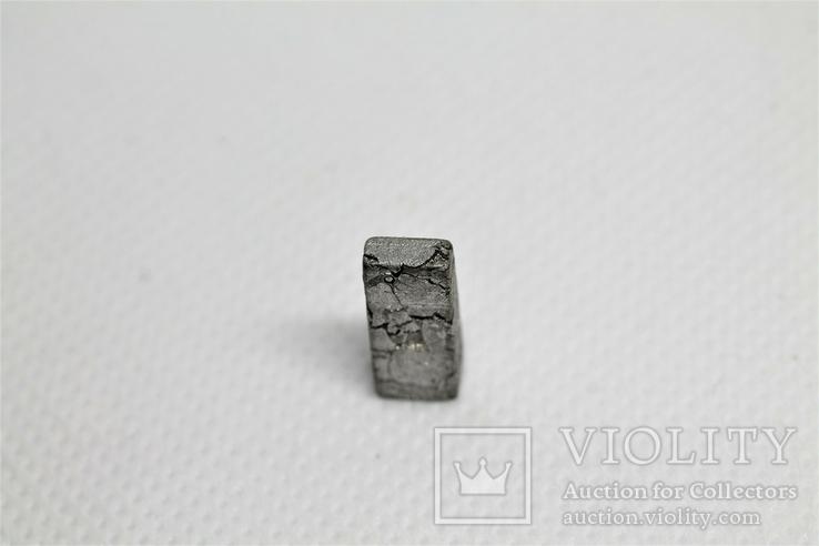Заготовка-вставка з метеорита Seymchan, 2,4 г, із сертифікатом автентичності, фото №8